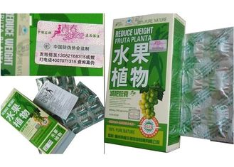 Chiny Fruit Plant Herbal Weight Loss Pills With Lemon / Bitter Gourd / Spiral Ingredients dostawca