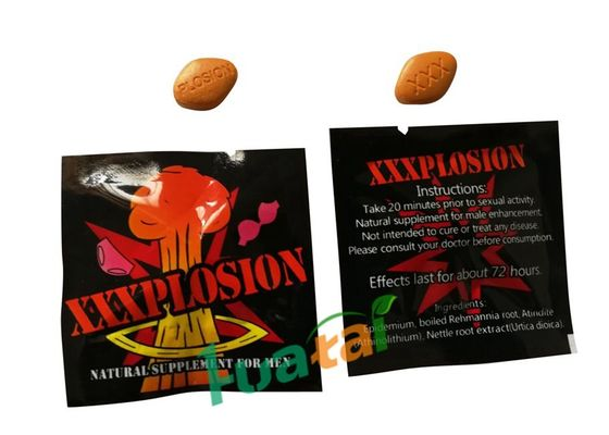 Chiny PLOSION Natural Male Enhancement Pills, Herbal Formula Sexual Male Enhancement Capsules fabryka