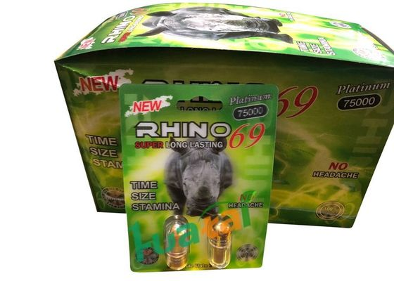 Chiny Green Rhino69 Double Natural Male Enhancement Pills For Man Erectile Dysfunction fabryka